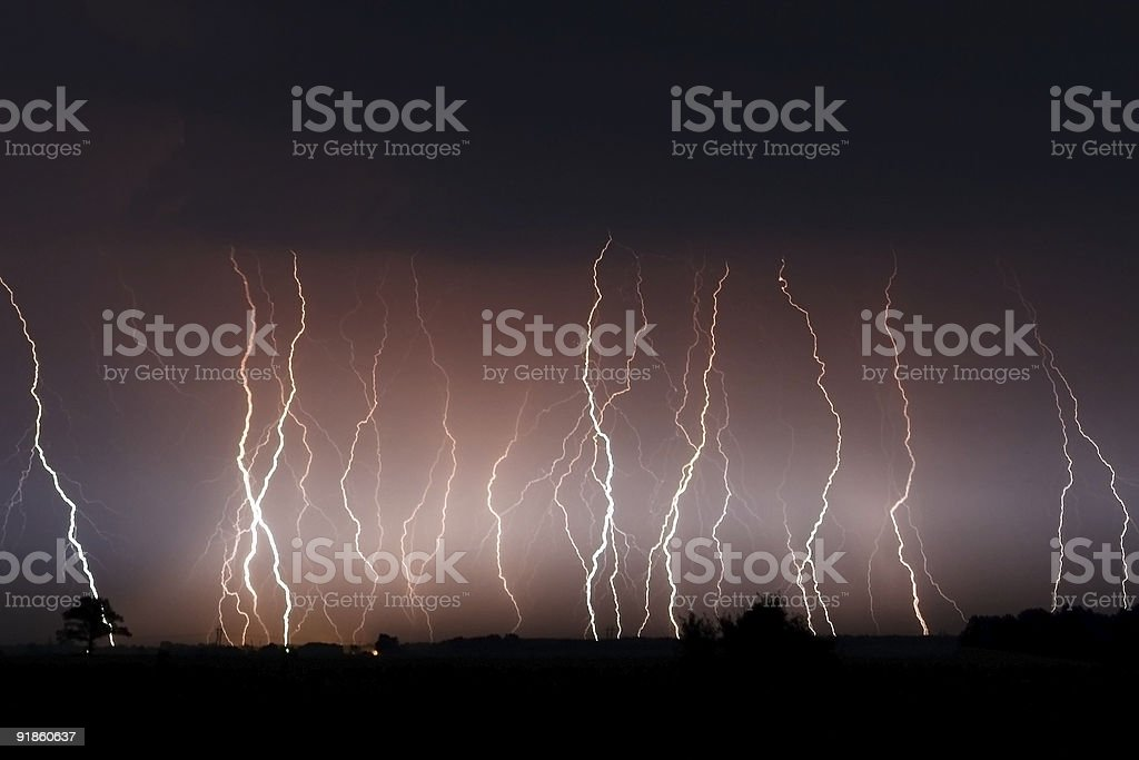 Bunch of Bolts royalty-free stock photo