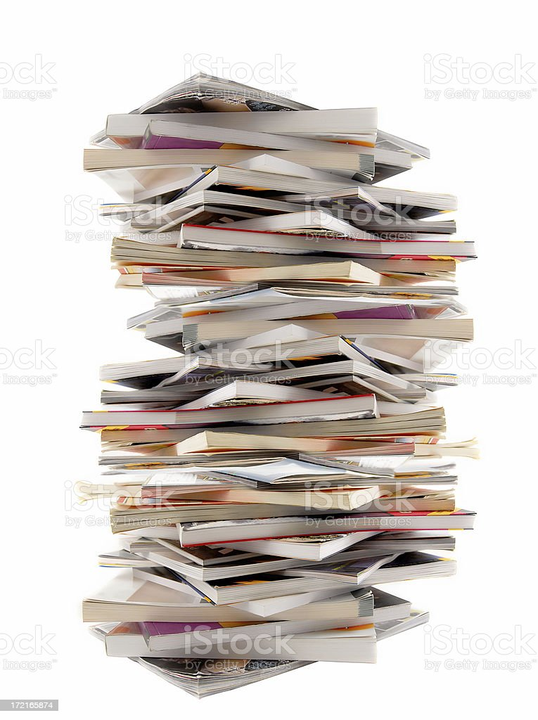 Bunch of Books stock photo