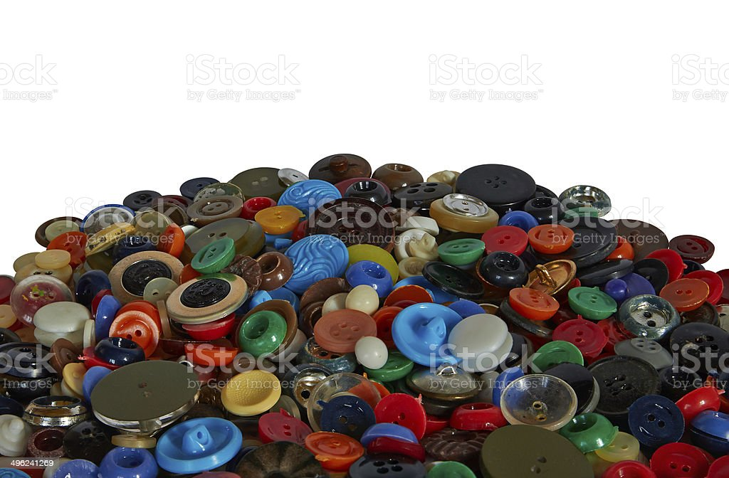 bunch of buttons royalty-free stock photo