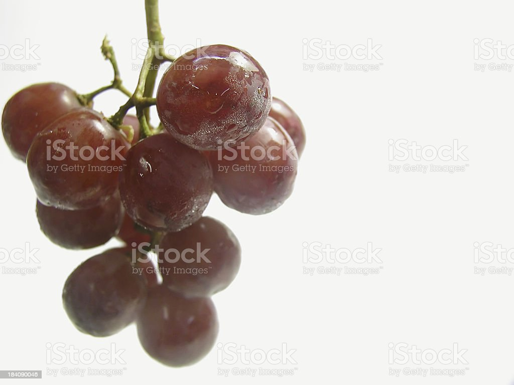 Bunch of Grapes stock photo