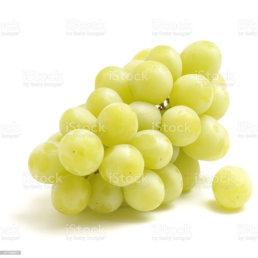 Bunch of Green Grapes stock photo