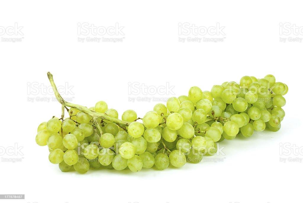 Cacho de uvas Verdes sem grainha foto de stock royalty-free