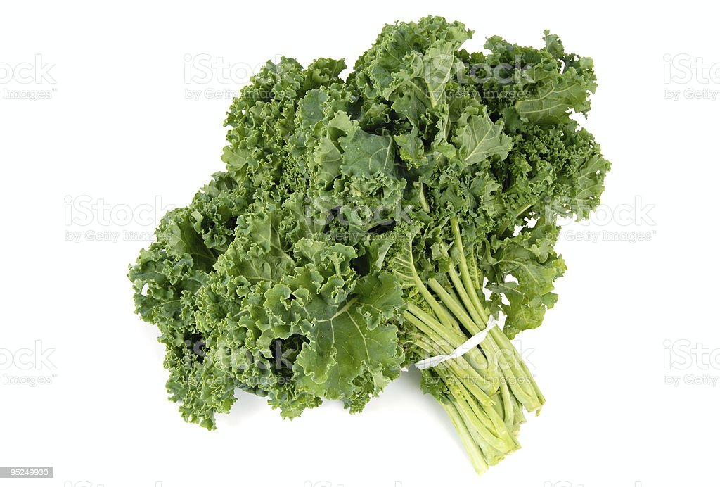 Bunch of Kale stock photo