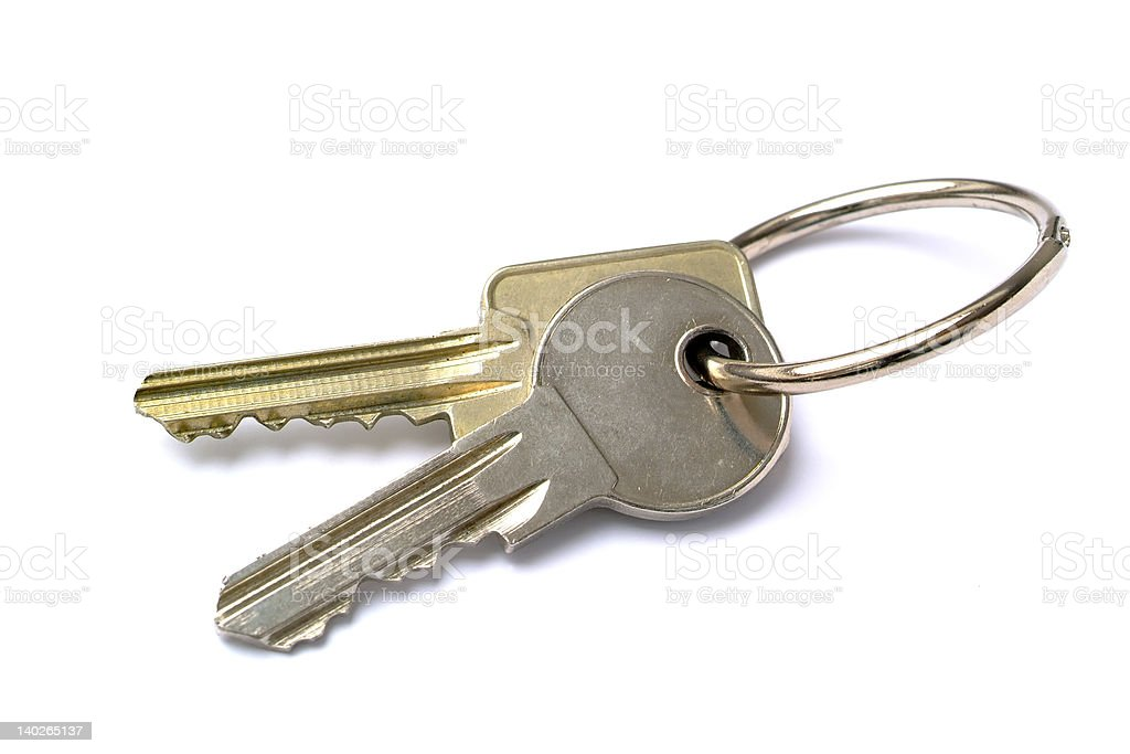 bunch of keys royalty-free stock photo