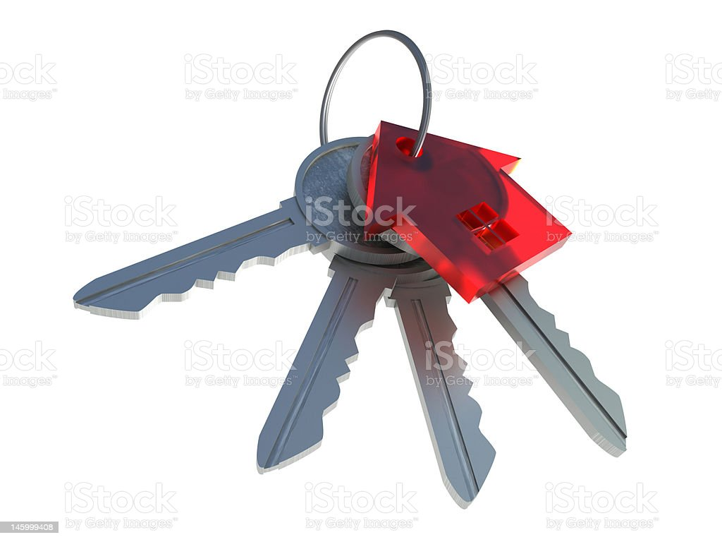 Bunch of keys royalty-free stock photo