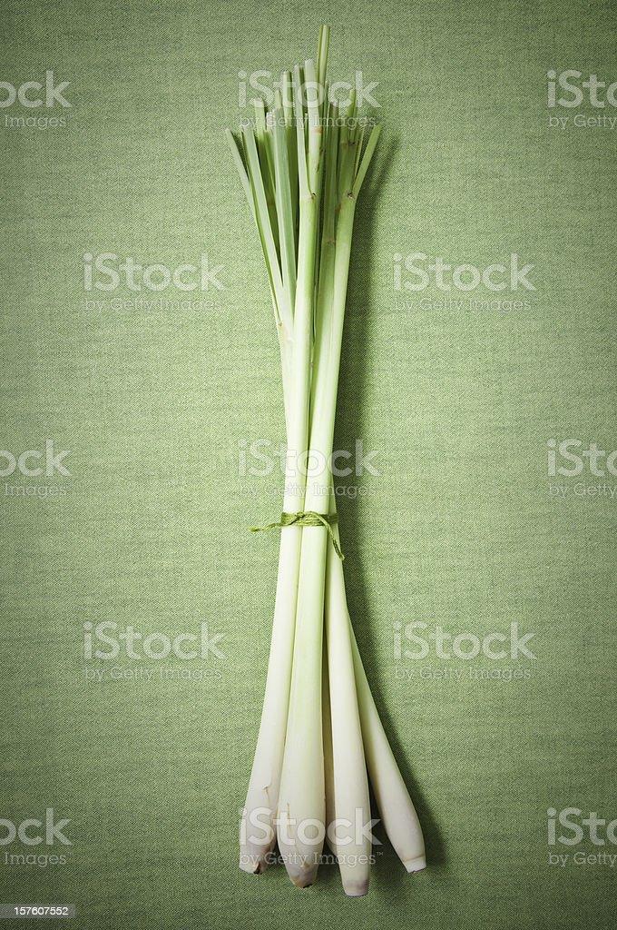 Bunch of lemongrass. royalty-free stock photo