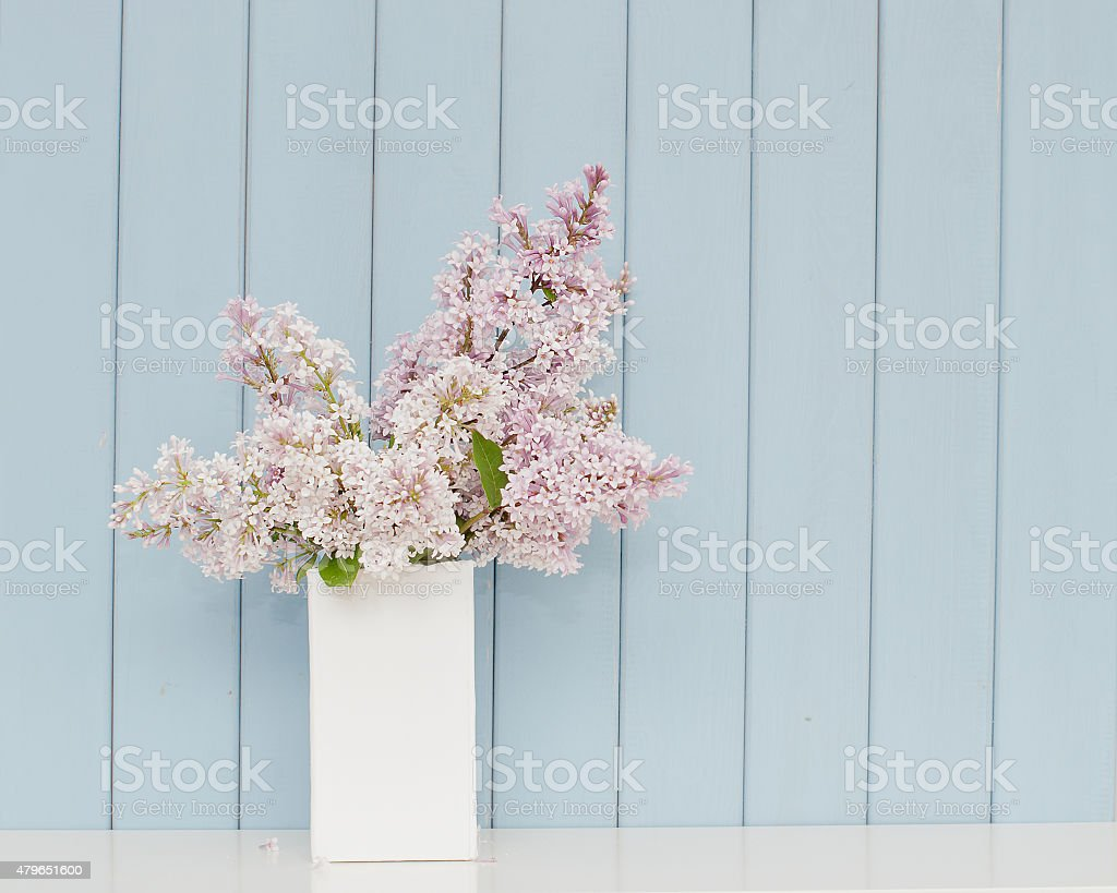 Bunch of lilac stock photo