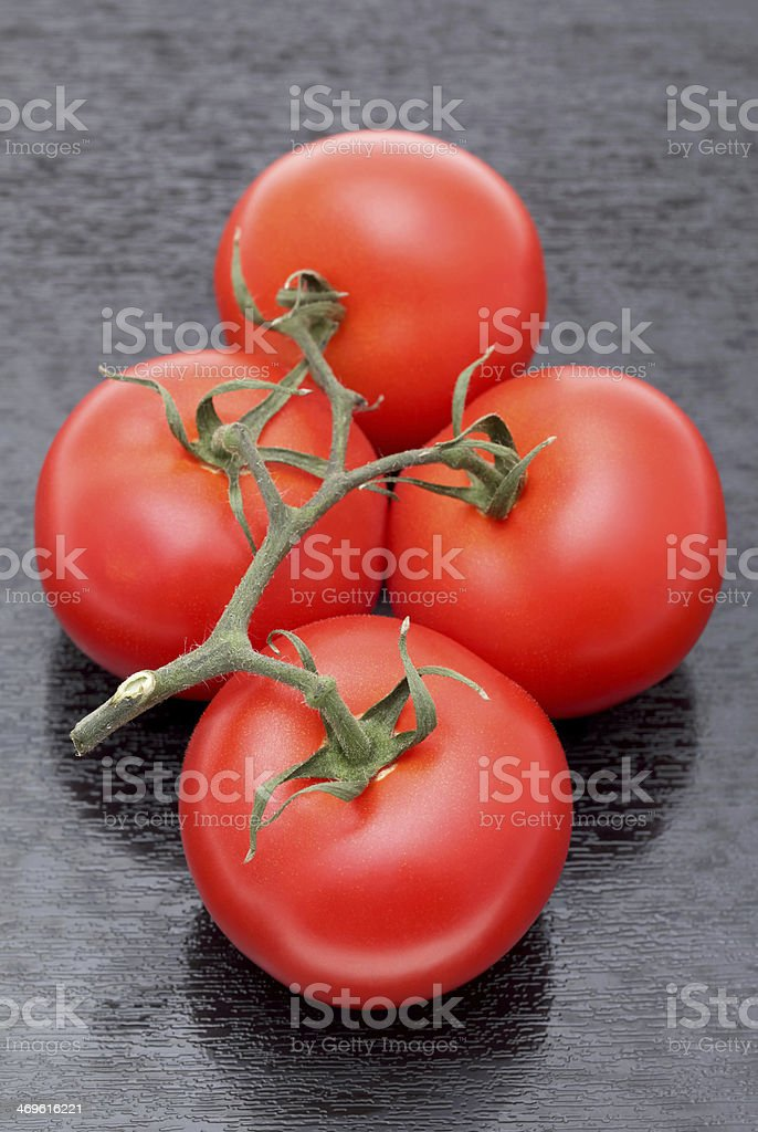 bunch of red tomatoes stock photo