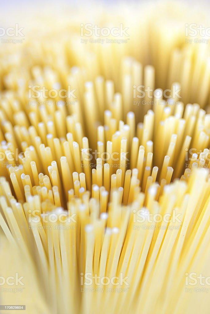 Bunch of spaghetti pasta royalty-free stock photo