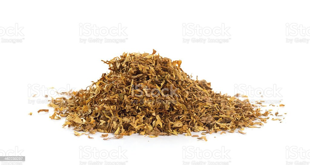 Bunch of tobacco stock photo