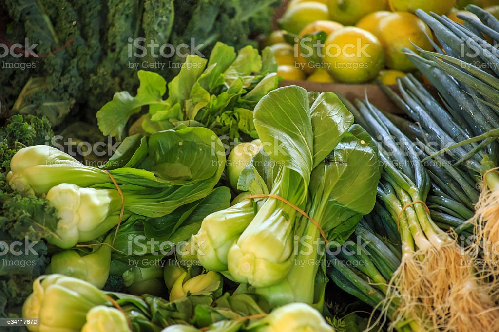 Bunch of vegetables stock photo