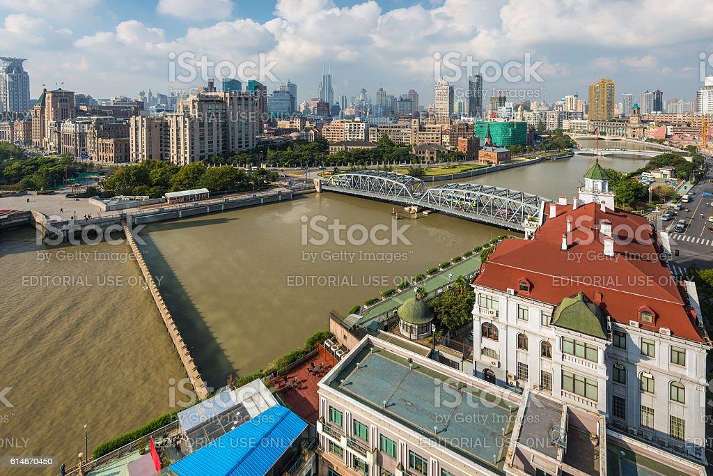 Bund View - Shanghai, China stock photo
