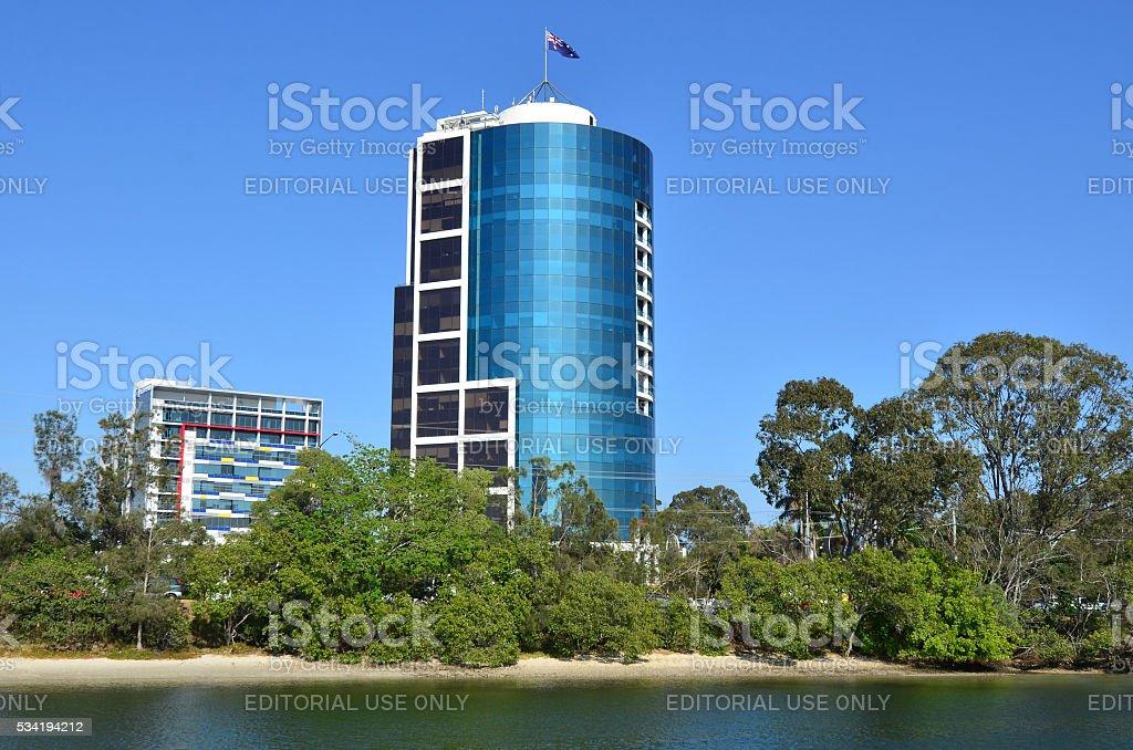 Bundall Corporate Centre complex Gold Coast Australia stock photo