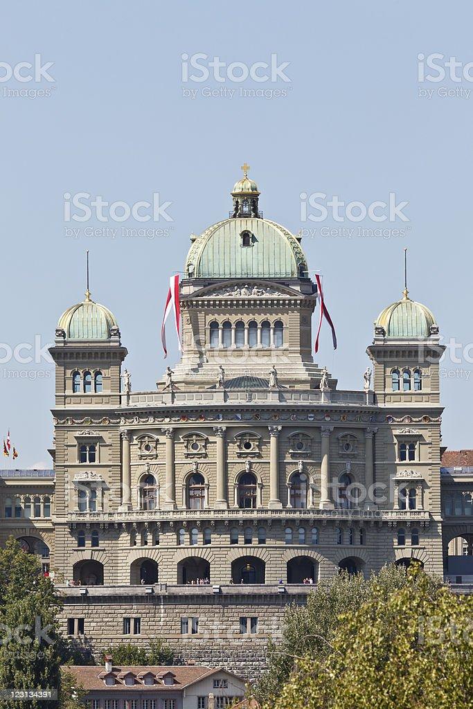 Bundeshaus royalty-free stock photo