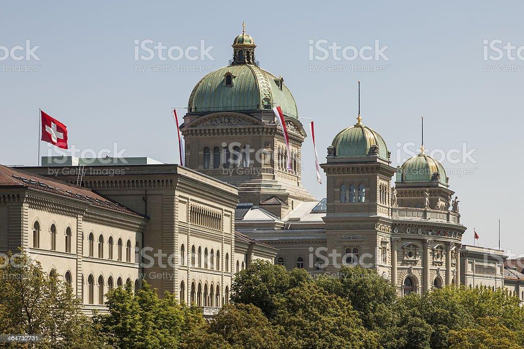 Bundeshaus stock photo