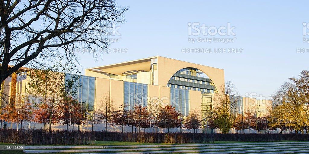 Bundeskanzleramt (Federal Chancellery) building royalty-free stock photo