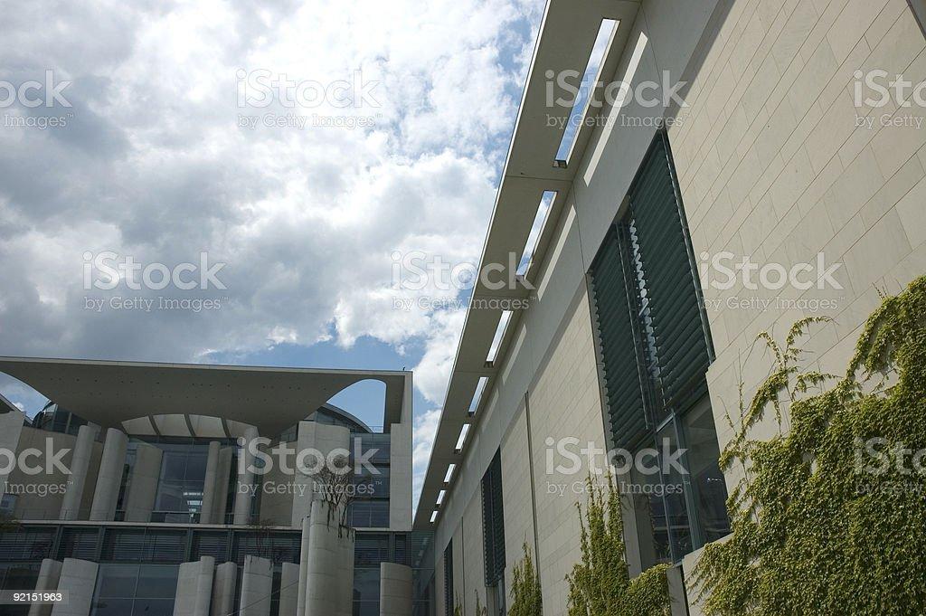 bundeskanzleramt in berlin stock photo