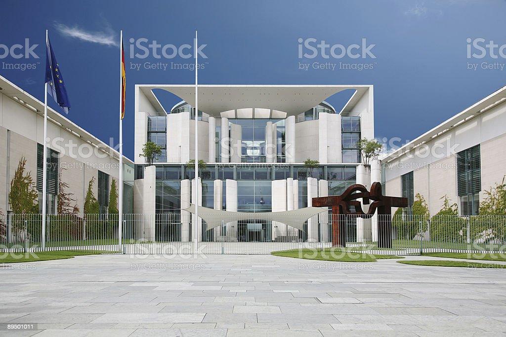 Bundeskanzleramt stock photo