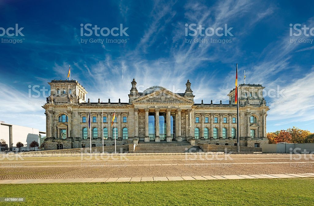 bundestag, berlin stock photo