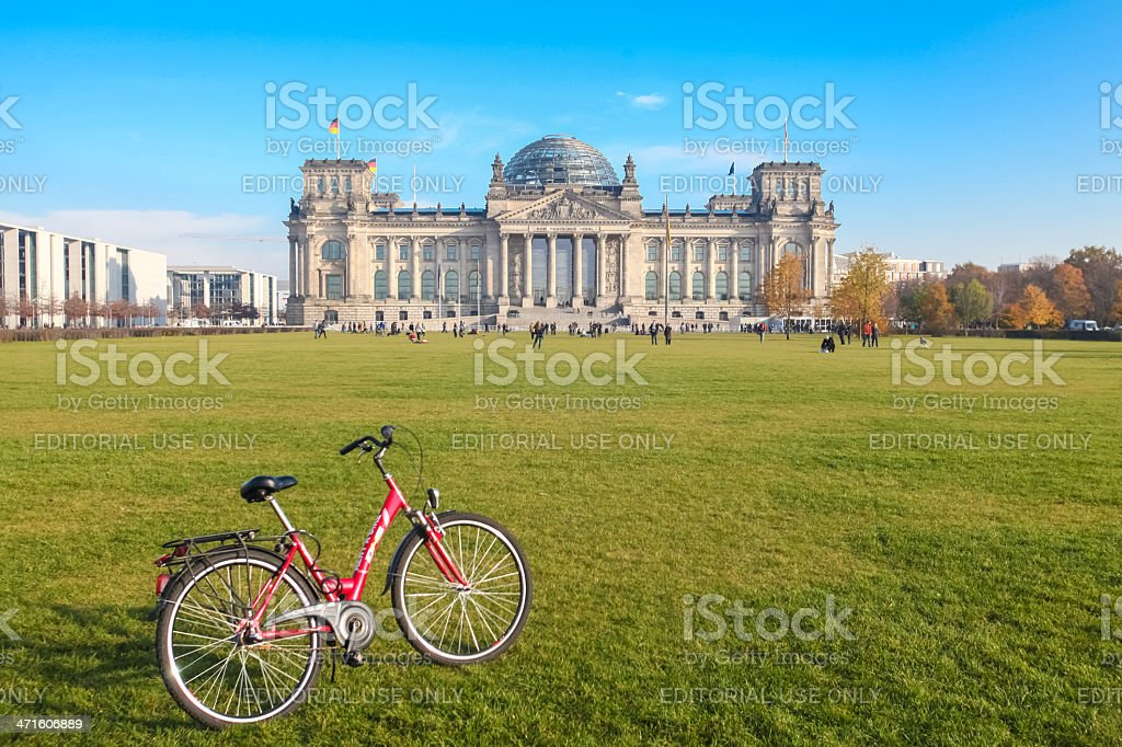 Bundestag royalty-free stock photo
