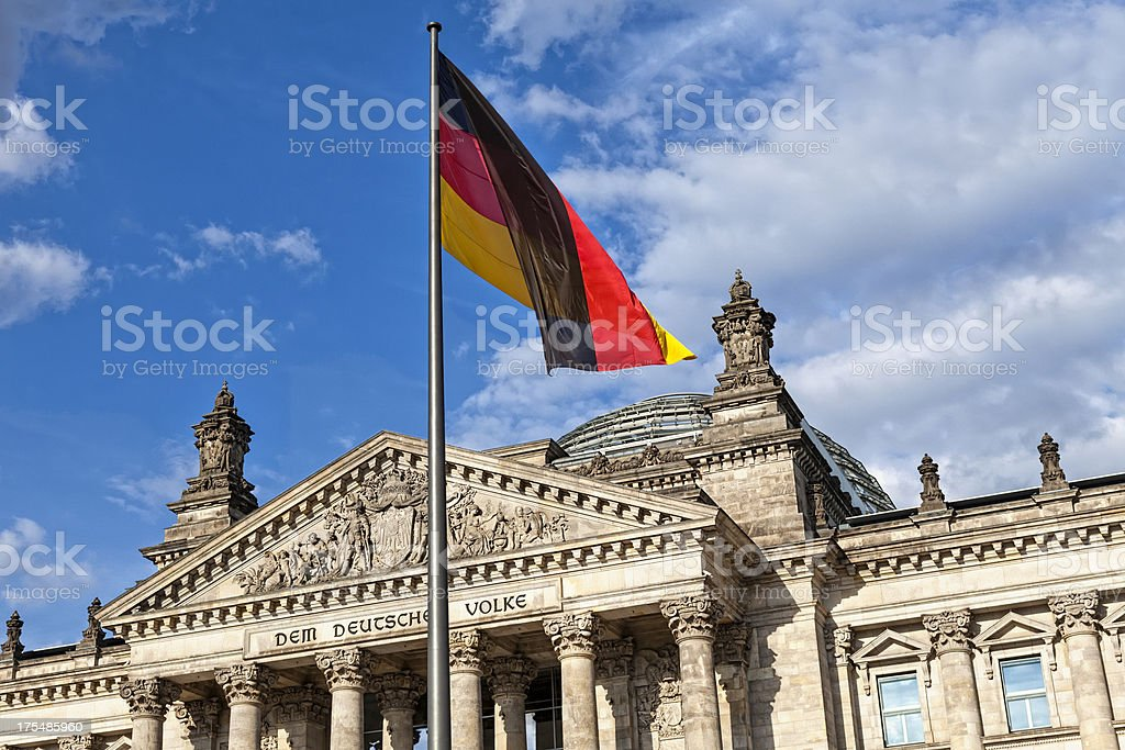 Bundestag Seat stock photo