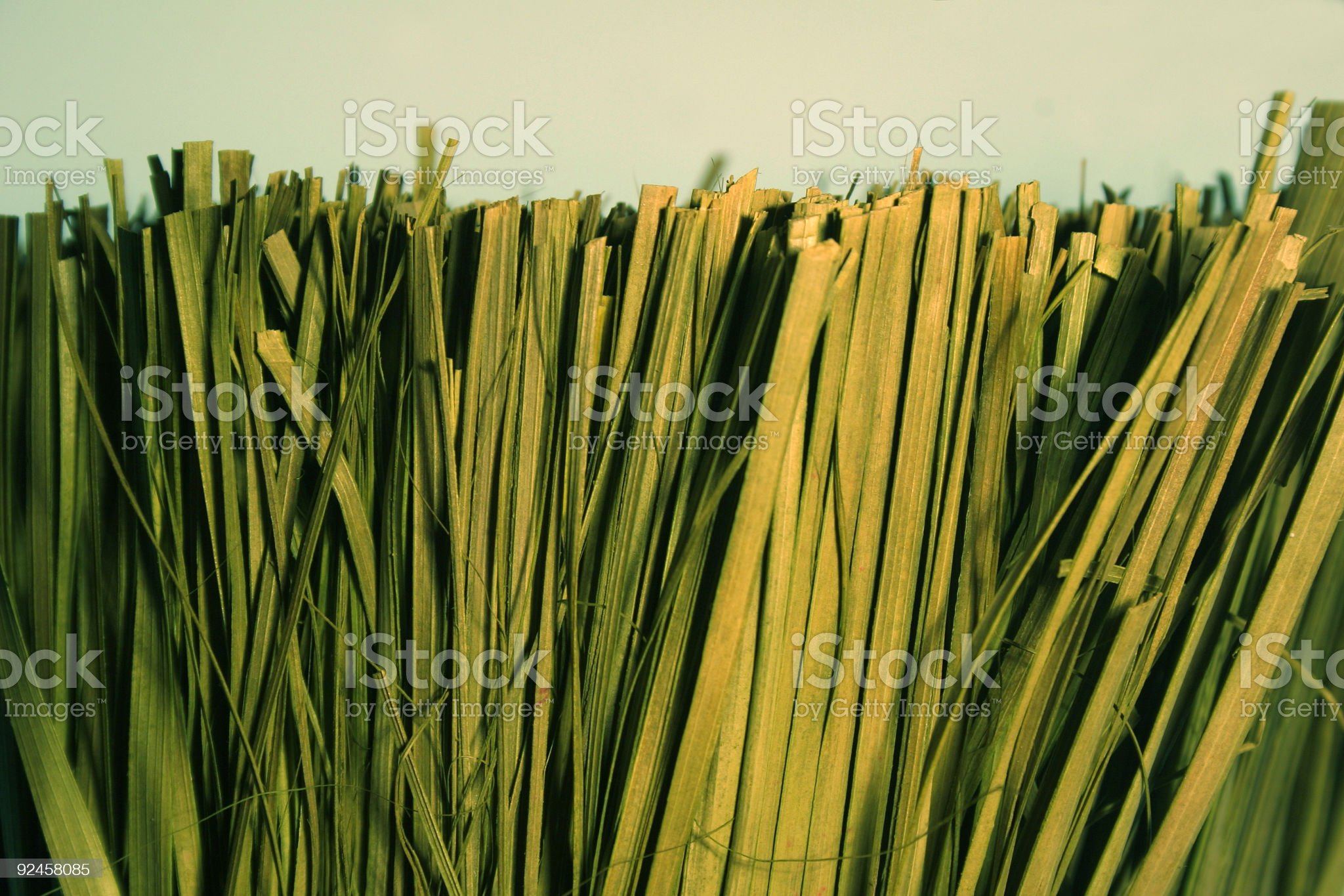bundle of dried grass royalty-free stock photo
