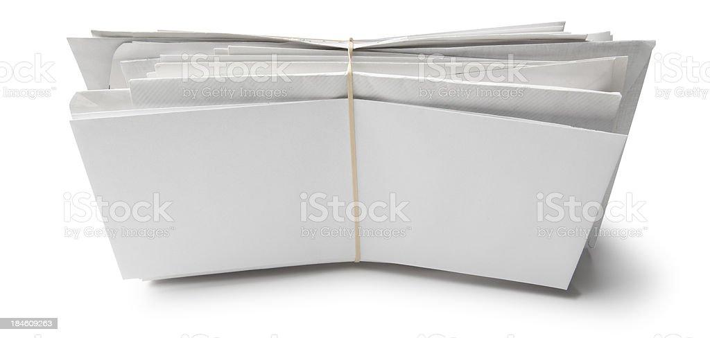 Bundle of Mail stock photo
