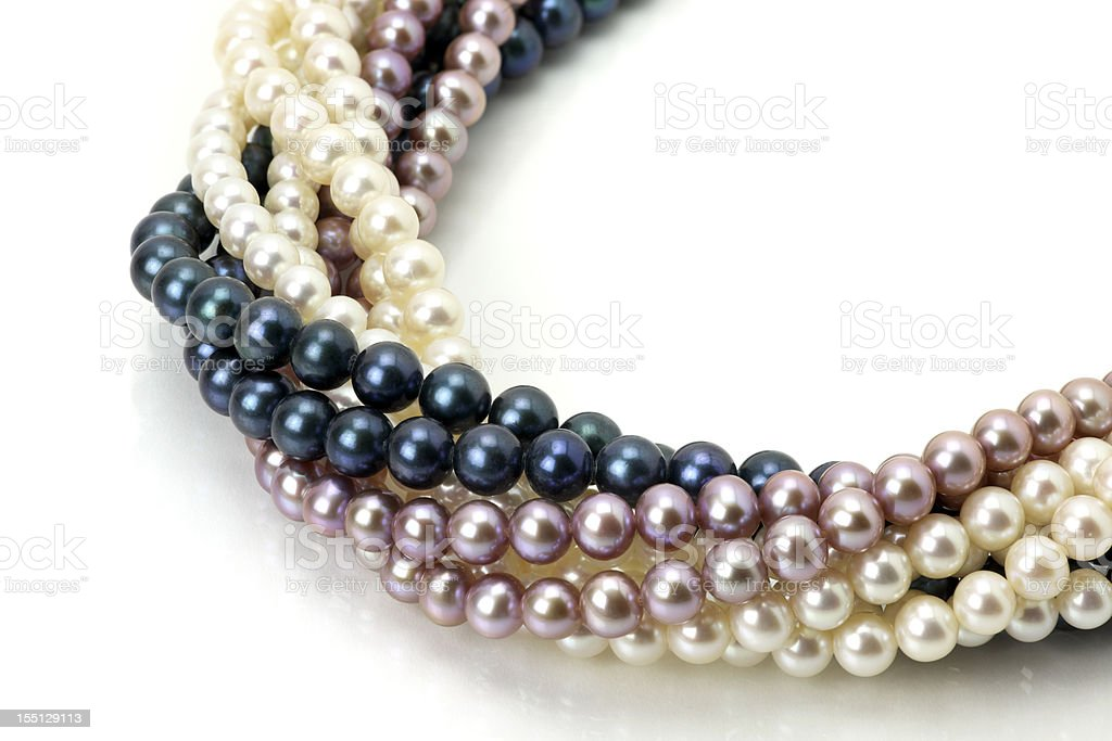 Bundle of Pearl royalty-free stock photo