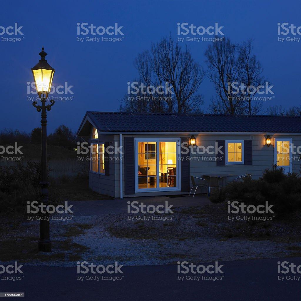 bungalow stock photo