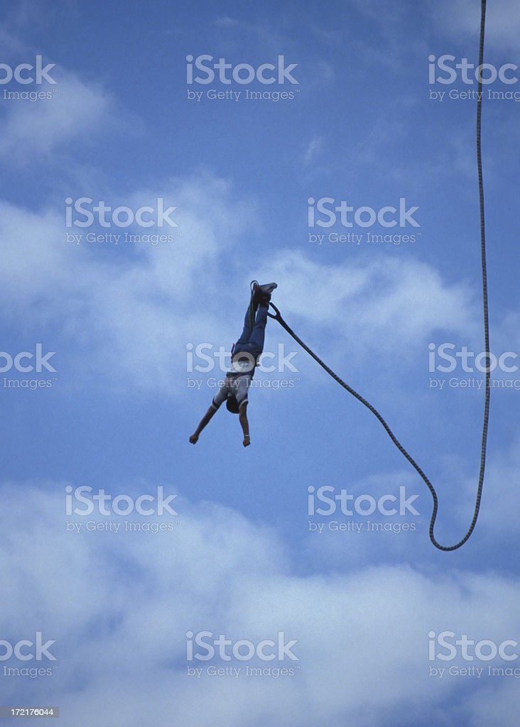 Bungee Jumping stock photo