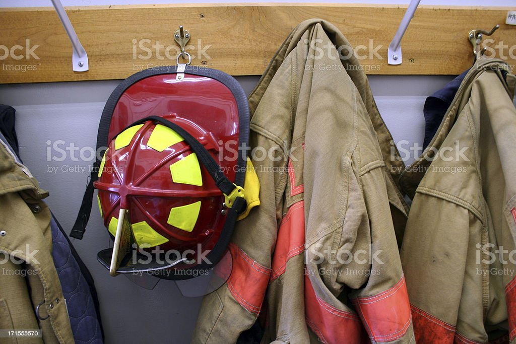 Bunker Gear stock photo