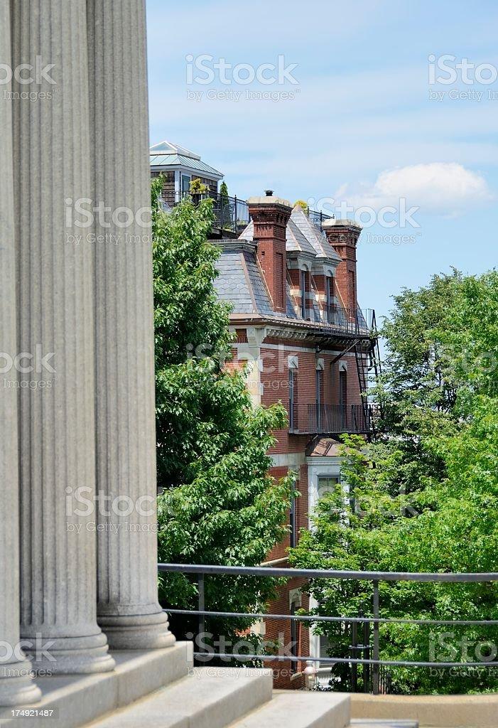 Bunker Hill Memorial stock photo