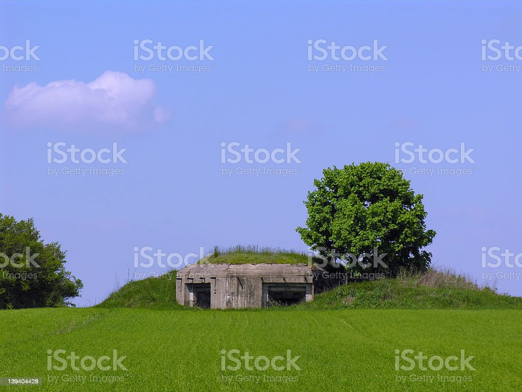 Bunker hill royalty-free stock photo