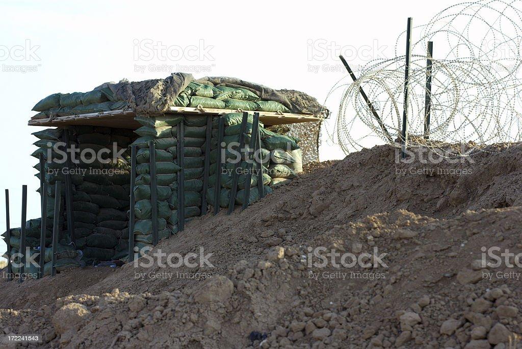 Bunker stock photo