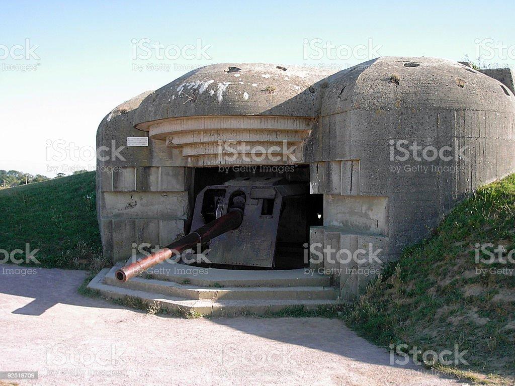 Bunker royalty-free stock photo