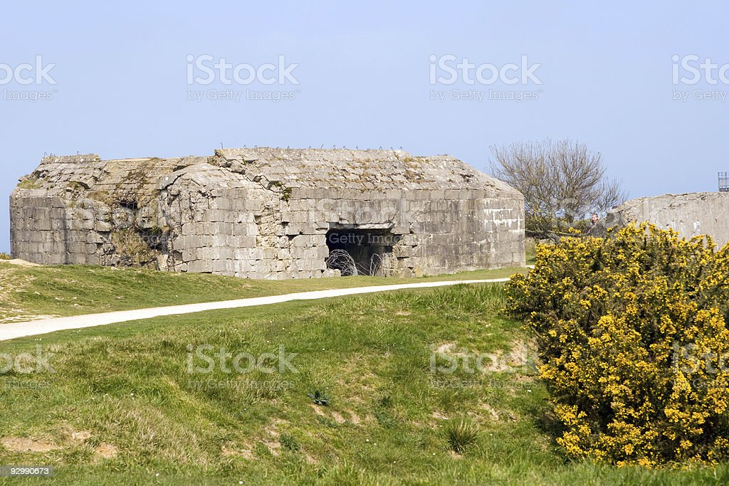 Bunker stock photo