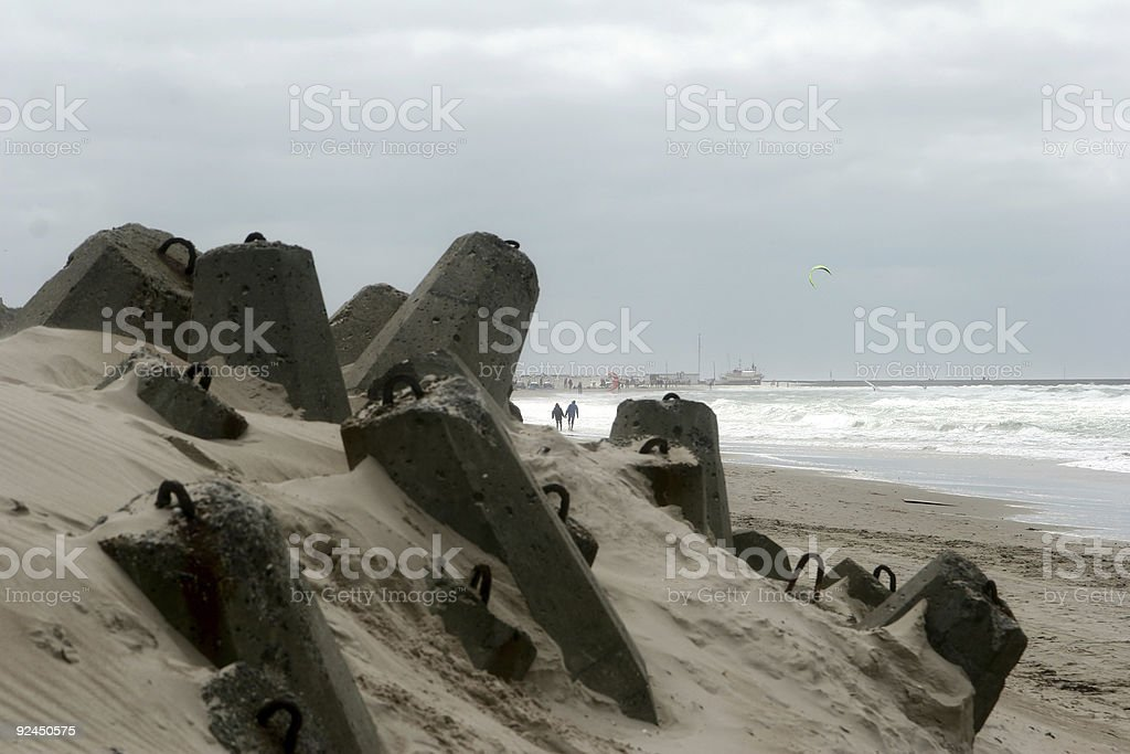 bunker rest royalty-free stock photo