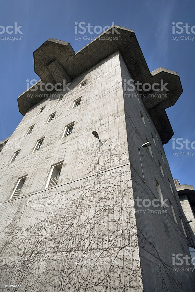 Bunker Tower, Germany stock photo
