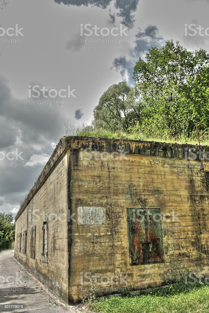 Bunker w2 stock photo