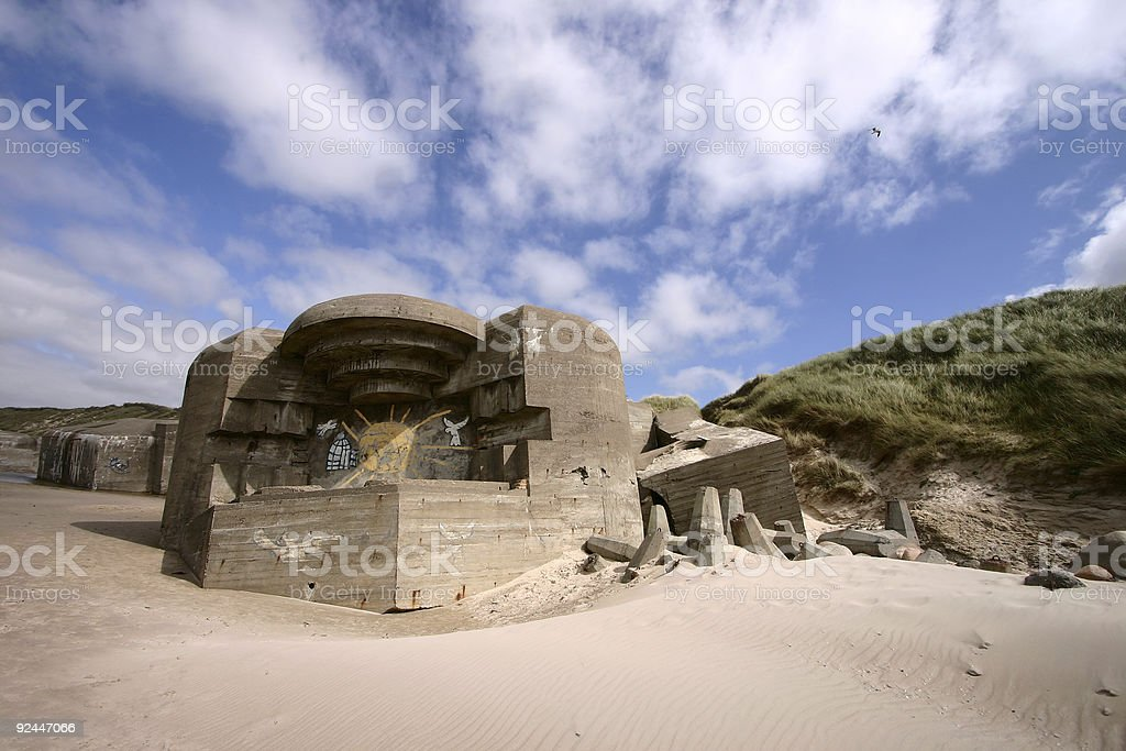 bunker01 royalty-free stock photo