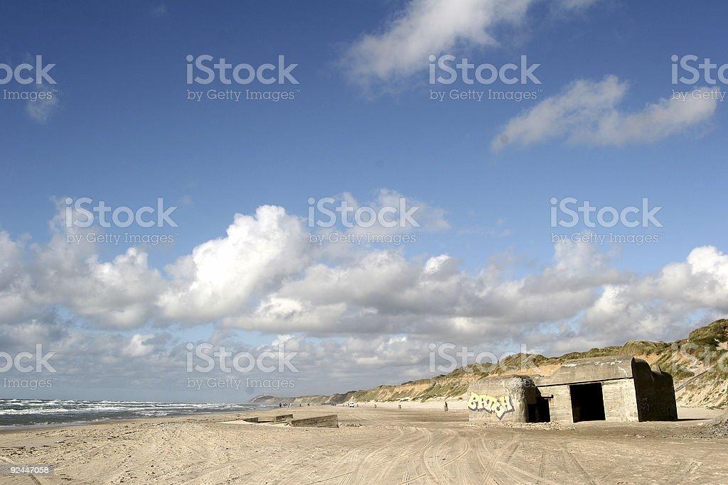 bunker03 royalty-free stock photo