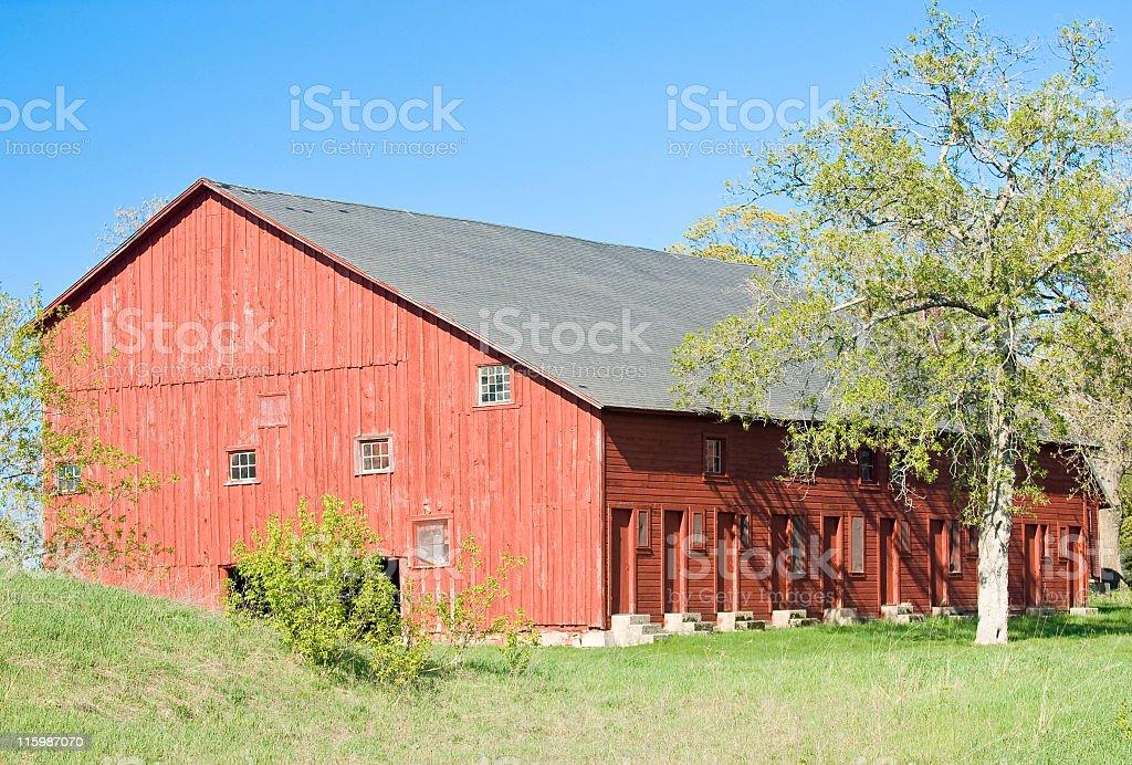 Bunkhouse Barn stock photo