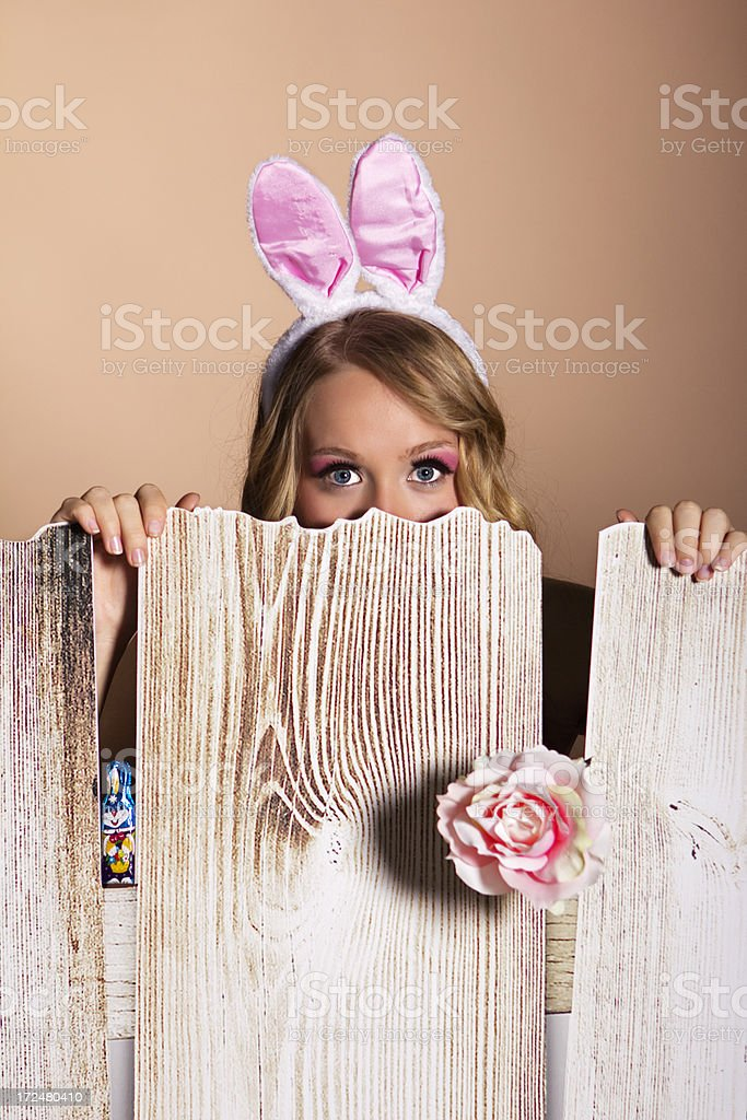 Bunny Girl royalty-free stock photo