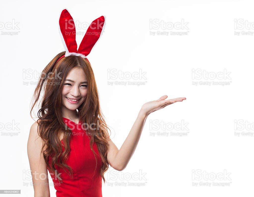 Bunny Girl stock photo