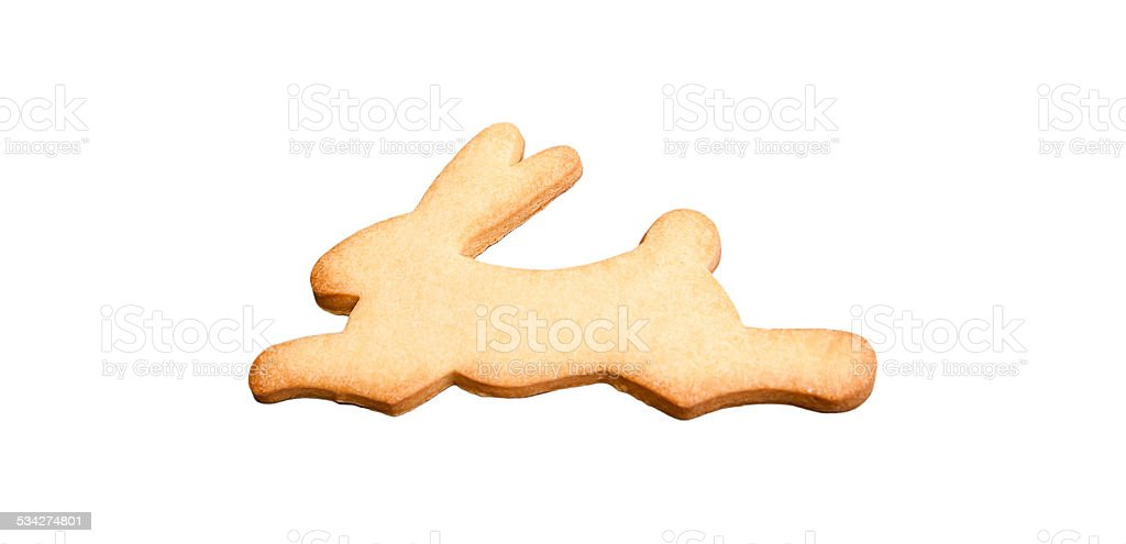 Bunny Pastry stock photo