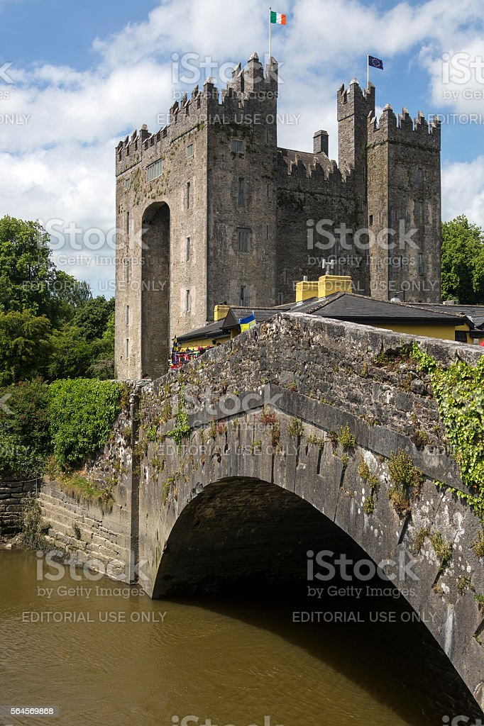 Bunratty Castle - County Clare - Republic of Ireland stock photo