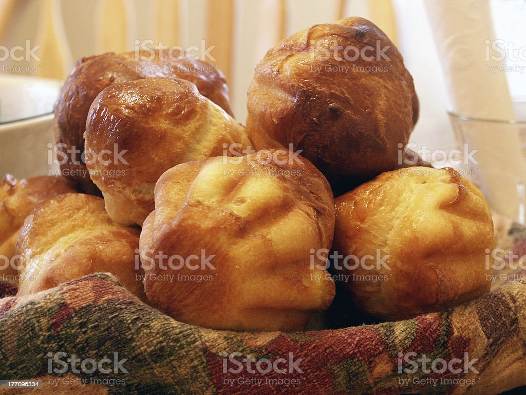 Brioches royalty-free stock photo