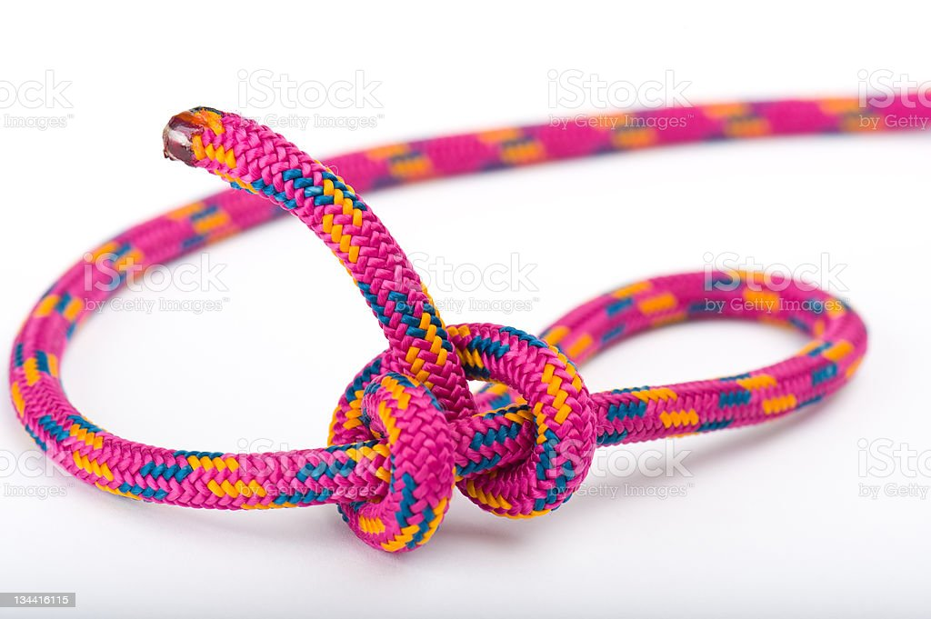 Buntline Knot royalty-free stock photo