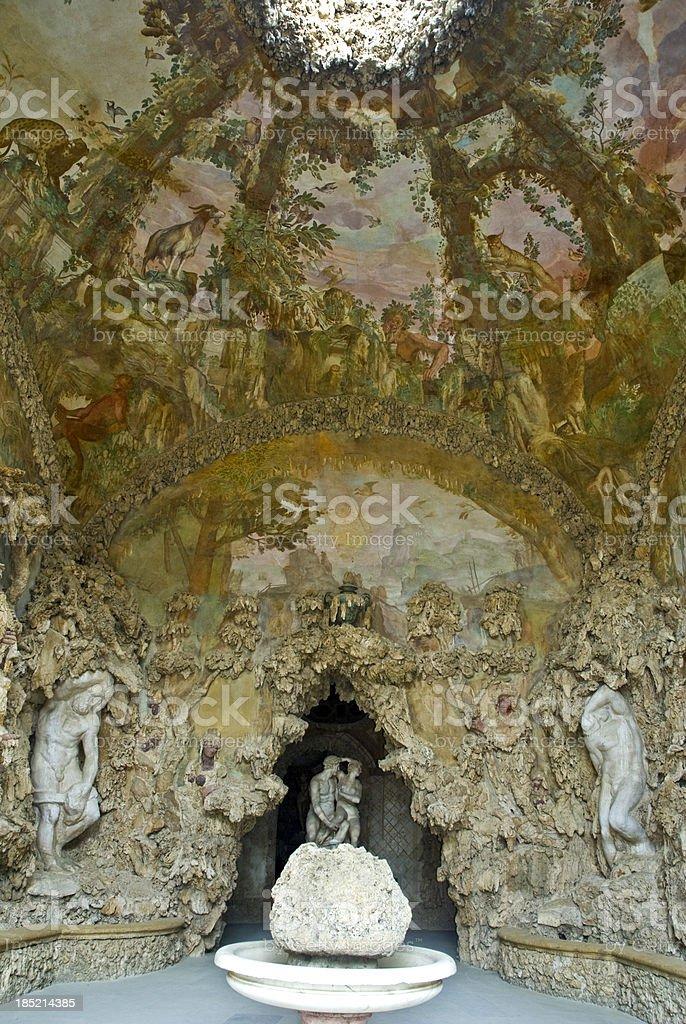 Buontalenti Grotto stock photo