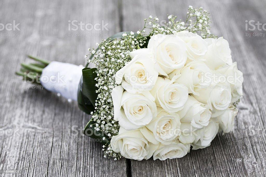 Buoquet of roses stock photo